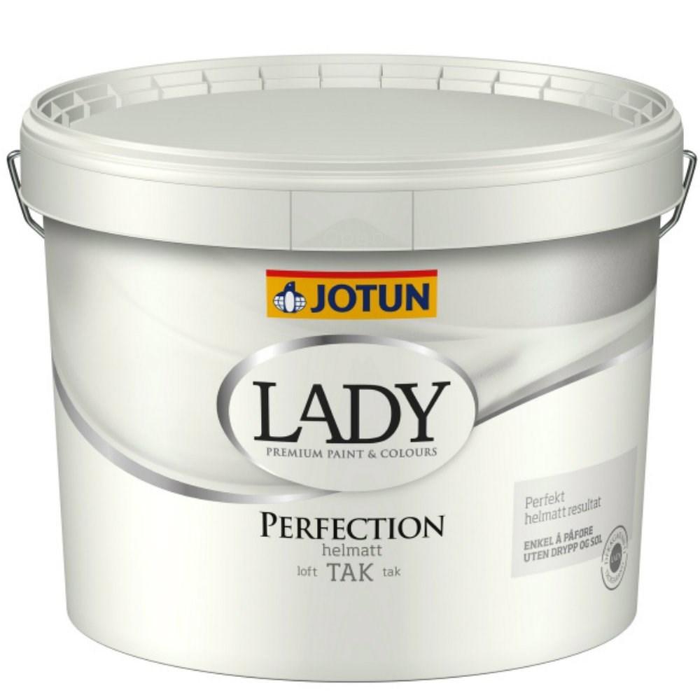 Velsete Lav pris på Lady Perfection fra Jotun. Køb loftmaling med mat finish BQ-07