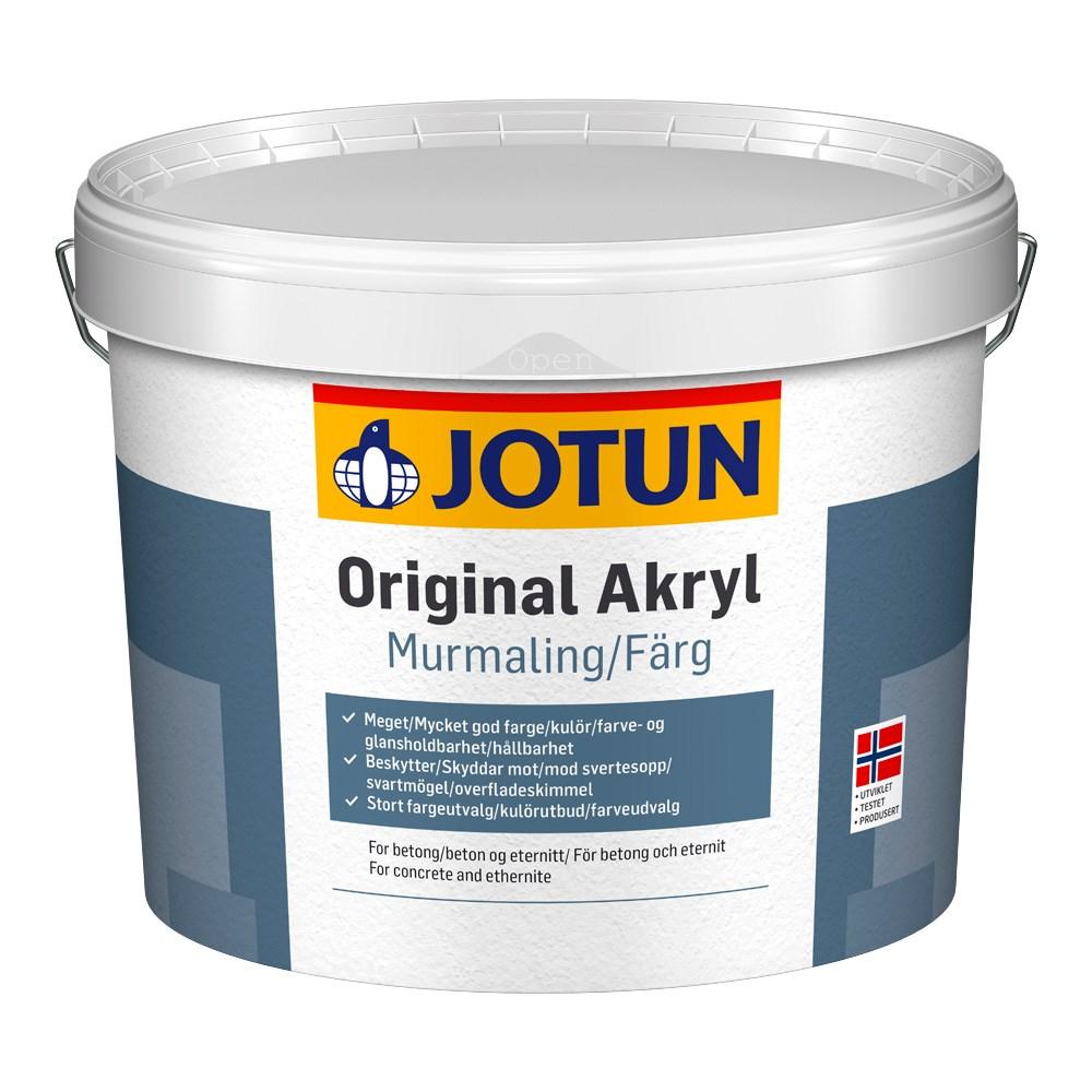 Billede af Jotun Mur Akryl facademaling 9 liter